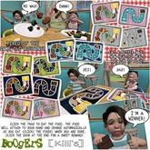 <:*BoOgErS*:> & Killi's Yummy Food Tray Rainbow