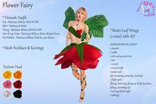 AvaGirl - Flower Fairy FATPACK