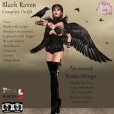 AvaGirl - Black Raven