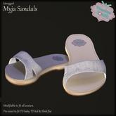 {V*Y} Myja Sandals - White