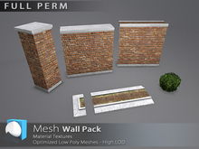 "[Prim 3D] - Wall Pack ""FULL PERM"""