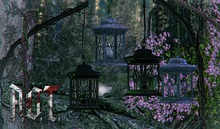 R.O.T. - forest lamp dark