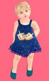 Lexxie Totsipop Baby Dreidel Dress