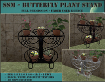 SSM - Butterfly Plant Stand
