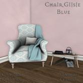 **Mistique** Chair Gijsje Blue (wear me)