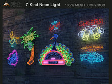 [Dolphin Design] 7 Kind Neon Light