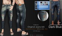 <Kalback> Original Jeans M5_Dark Blue