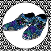Bakaboo - Baka Couture Shoes - Ocean