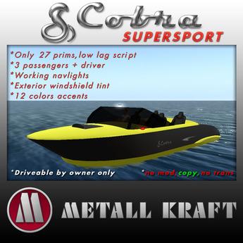 Cobra SuperSport speedboat v2.2 Boxed