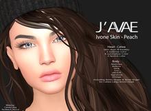 [J'AVAE] IVONE SKIN - PEACH