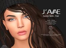 [J'AVAE] IVONE SKIN - FAIR