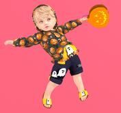 Lexxie TOTSiPOP! Infant hoodie Halloween