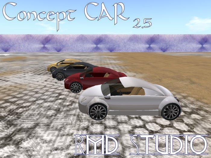 Concept car Scripted free car