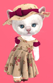 Lexxie Dinkies Dress Roses