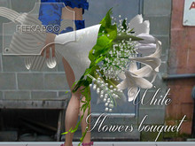 p-a-b white flowers bouquet
