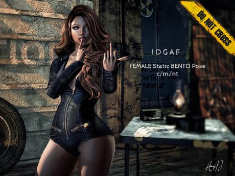 -DNC- IDGAF - Female BENTO Pose