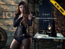 - DNC- IDGAF - Female BENTO Pose