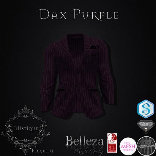 **Mistique** Dax Purple (wear me and click to unpack)