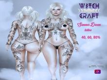 [WitchCraft]  Summer Dream Tattoo