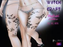 [WitchCraft] Daffodils Leg Tattoo