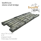 *booN-kura stone small bridge