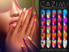 CAZIMI: Summer Heat Nails - Pro Palette