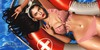 {LP}- Lisa  Bikini Red