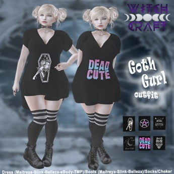 [WitchCraft] Goth Gurl Outfit