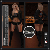 [RnR] Swag Tequila Biker Outfit /includes Maitreya Lara, Belleza Freya & Isis, Slink Hourglass & Physique! [New Release]