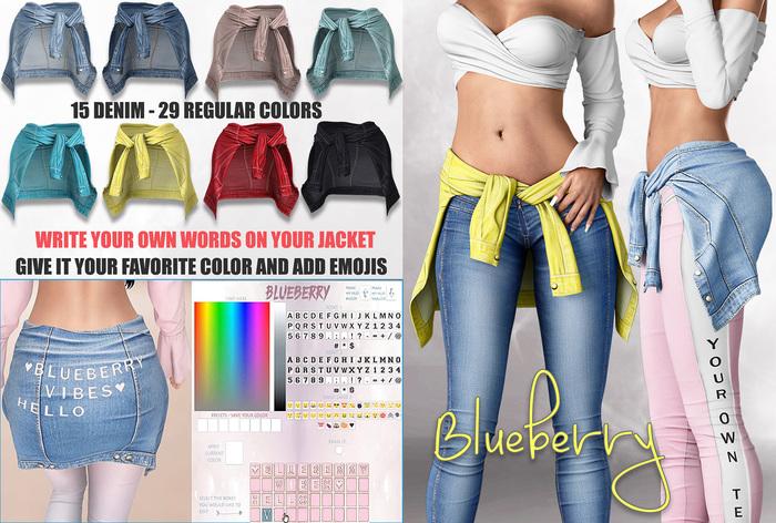 Blueberry - Alena - Wrap Around Waist Jackets - Fat Pack