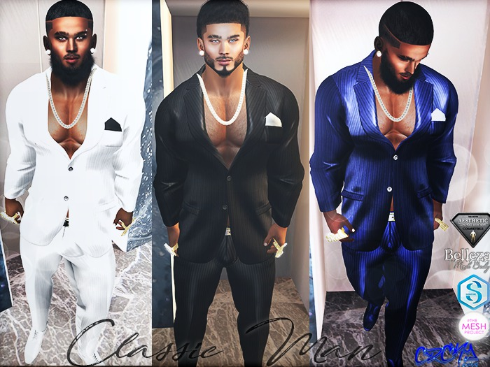 {RC} Classic Man Suits