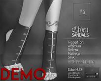 TWS - Elven Sandals - Demo