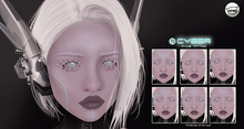 Le Forme Cyber Face Tattoos