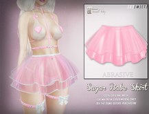 [ abrasive ] Sugar Babe Skirt - Blush