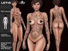 Letis Tattoo :: Nirvana :: Tattoos Bakes On Mesh & Legacy Maitreya and more Appliers