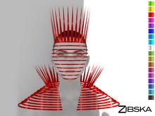Zibska ~ Vik Color Change Mask, Brow, Collar and Shoulders