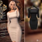 Valentina E. May Dress Black