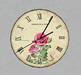 Vintage Wall Clock 4 V2 Rose Keeps Time
