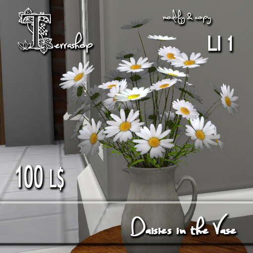 Daisies in the Vase MC