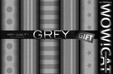 TEXTURE WOW!CAT FULL PERM GREY GIFT PACK 19