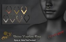 Eliya.K - Unisex V septum ring Gift