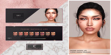 .KC.  Phoebe Natural Lip Collections  . Fatpack .
