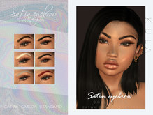 .KULA. Satin Eyebrow Collection . Fatpack.