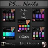The Wet & Messy Collection Polishes