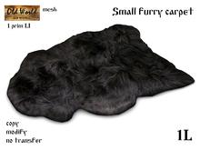 OW Small furry carpet
