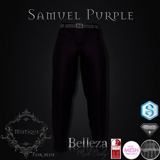 **Mistique** Samuel Purple (wear me and click to unpack)