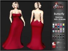 :: C.K Butterfly Dress long ::