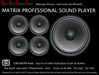 Professional Sound Player  !----- ! DATS MATRIX SOUND MODULE PRO