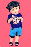Lexxie Totsipop Infant Tartan 2 Kitty