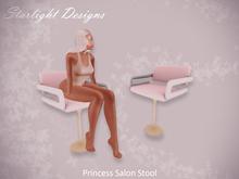 Starlight Designs - Princess Salon Stool